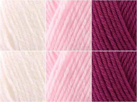 Sirdar Snuggly DK - Princess Colour Pack