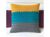 Spiky Cushion by Kate Rowell in Deramores Studio Chunky
