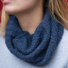 i-Spiral Rib Cowl by Vickie Howell - Digital Product