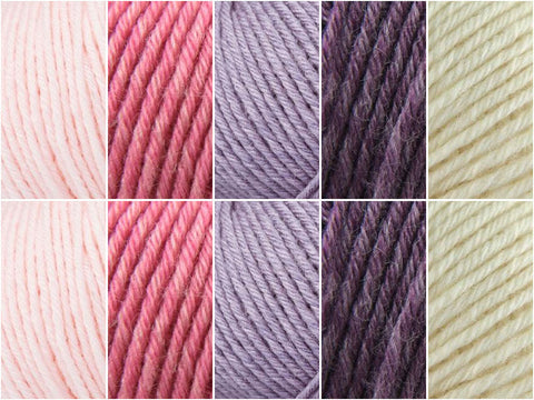 Rowan Baby Merino Silk DK Spring Bloom Colour Pack