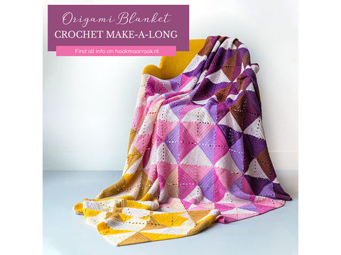 Origami Blanket Make Along in Scheepjes Yarn