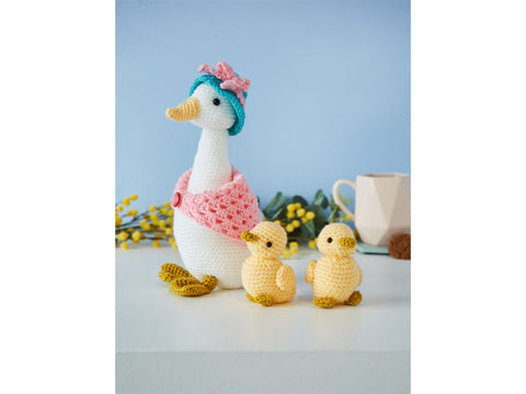 Crochet Now Mother Goose Colour Pack in Cygnet DK