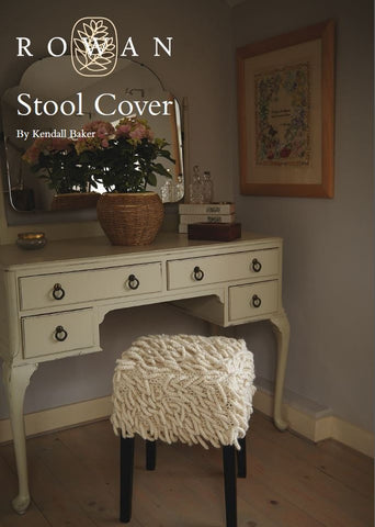 Stool Cover by Kendall Baker