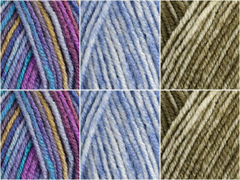 Stylecraft Batik Essentials Colour Pack - Platinum Lupin