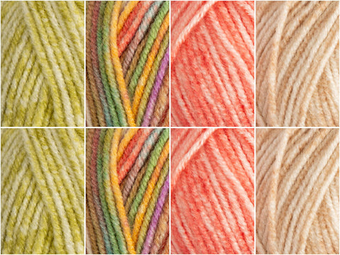 Stylecraft Batik Essentials Colour Pack - Magnesium Biscuit