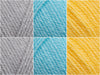 James C. Brett Top Value DK Sunshower Colour Pack