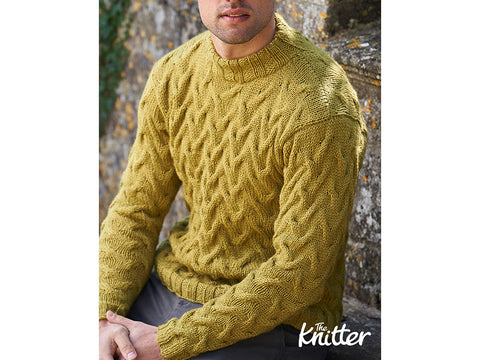 The Knitter Birnam Oak Colour Pack by Elly Doyle in West Yorkshire Spinners Bluefaced Leicester Aran
