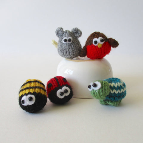 Teeny Knits in DK by Amanda Berry - Digital Version