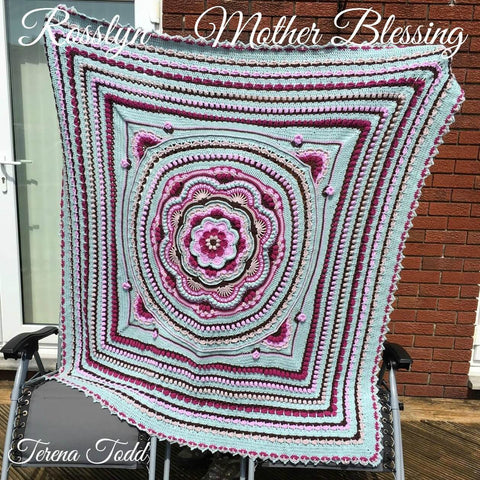 Rosslyn - Blanket - Stylecraft Special DK - Mother Blessing Yarn Pack