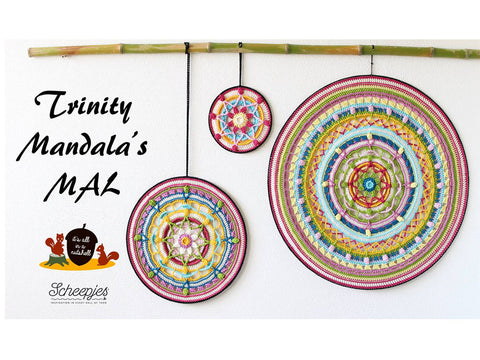 Trinity Mandalas MAL by It's All in a Nutshell in Scheepjes Catona