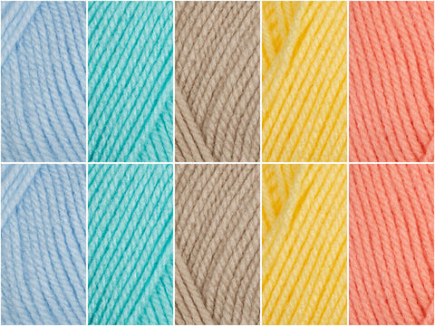 Turks & Caicos Colour Pack in Deramores Studio Baby DK