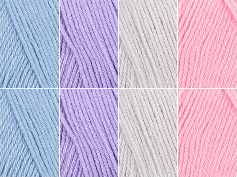 Unicorn Colour Pack in Deramores Studio Baby Soft DK
