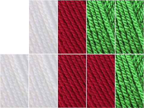 The Flag of Wales Colour Pack in Stylecraft Special DK