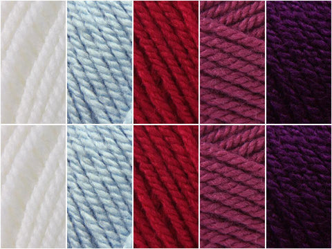 Winter Berries Colour Pack in Stylecraft Special Aran