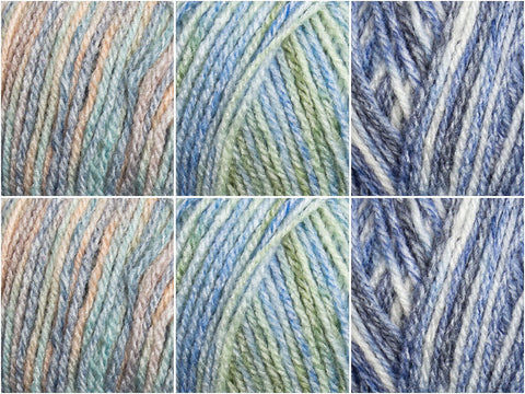 Winter Breeze Colour Pack in Hayfield Journey DK