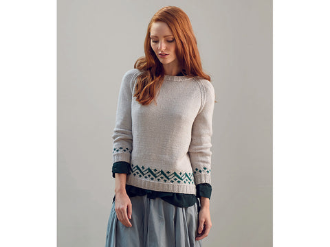 Amelia by Katya Frankel in Yarn Stories Fine Merino DK