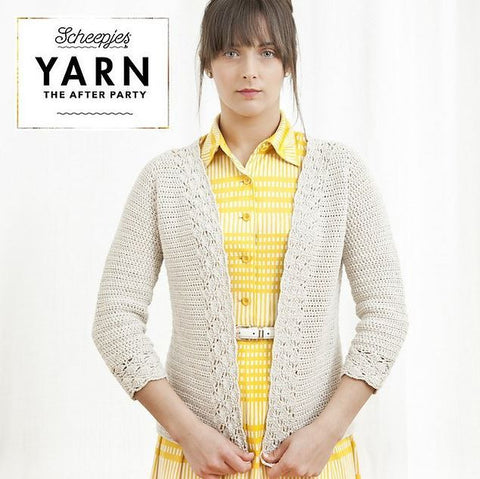 YARN The After Party 01 - Linen and Lace Cardigan