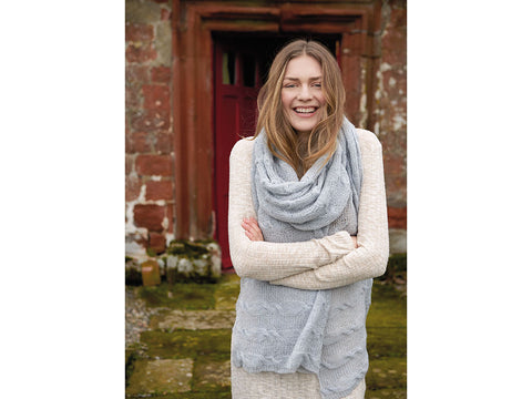 Serene by Lisa Richardson in Rowan Cashmere Haze