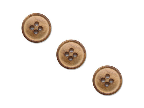 Round Wooden Buttons - 248