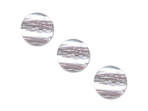 Round Shell Effect Buttons - Pink - 313
