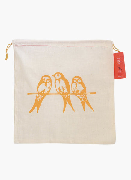 Pretty Cheep Project Bag - Coral