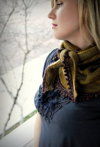 Cosette Wrap by Never Not Knitting