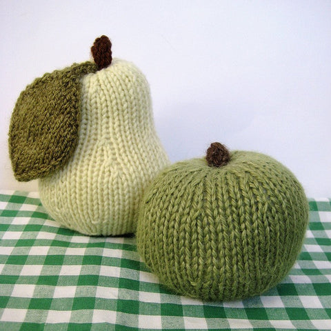 Apple and Pear in DK by Amanda Berry - Digital Version-Deramores