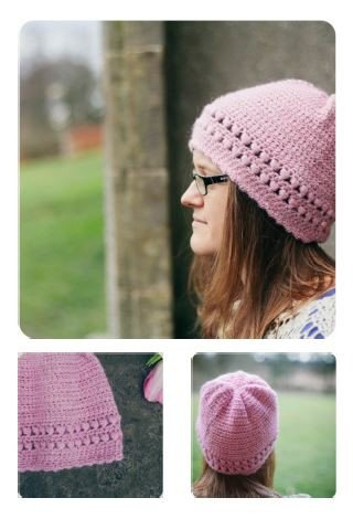 Aquilegia Hat by Jacqui Harding - Digital Version-Deramores