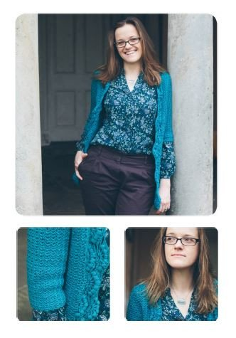 Aruacaria Cardigan by Kat Goldin - Digital Version-Deramores