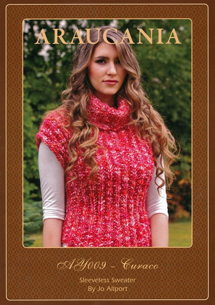 Sleeveless Sweater by Jo Allport in Araucania Curaco (AY009)