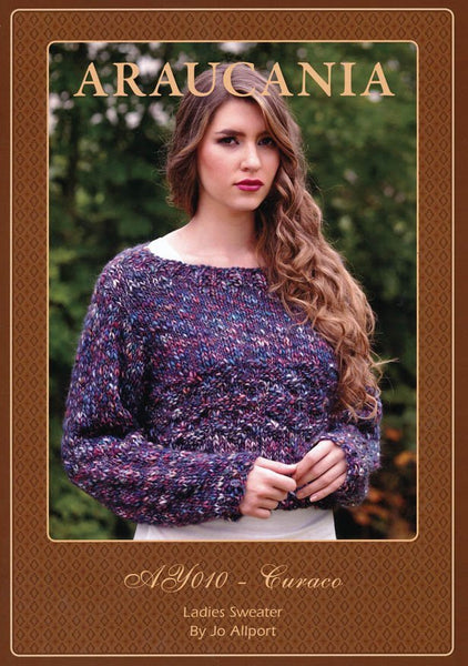 Ladies Sweater by Jo Allport in Araucania Curaco (AY010)