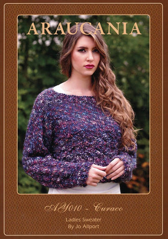Ladies Sweater by Jo Allport in Araucania Curaco (AY010)-Deramores