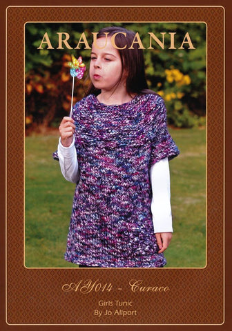 Girls Tunic by Jo Allport in Araucania Curaco (AY014)-Deramores