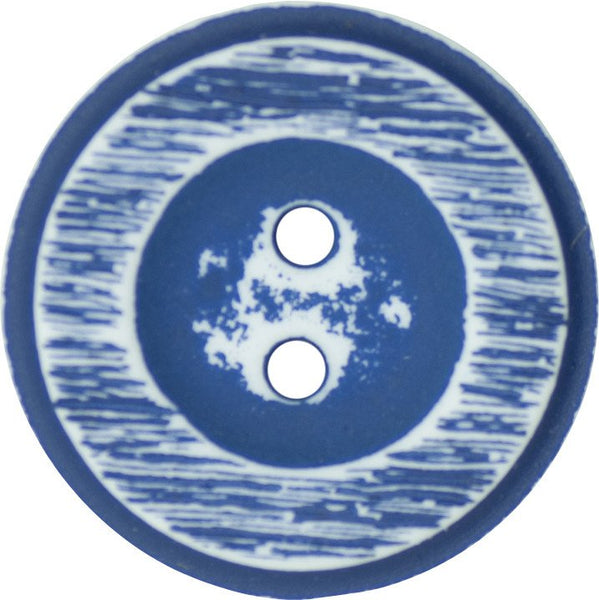Two Hole Polyester Italian Buttons 15mm