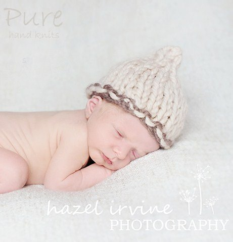 Baby Beanie Little Poppet by Linda Whaley - Digital Version-Deramores