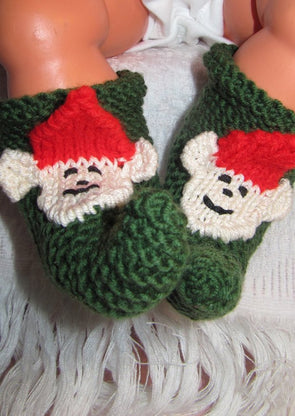 Baby Pixie Boots by MadMonkeyKnits (316) - Digital Version