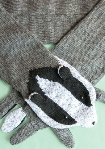 Faux Badger Scarf by Sincerely Louise - Digital Version-Deramores