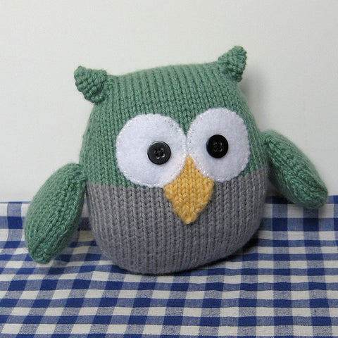 Barney Owl In DK by Amanda Berry - Digital Version-Deramores