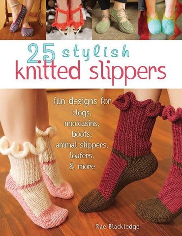 25 Stylish Knitted Slippers