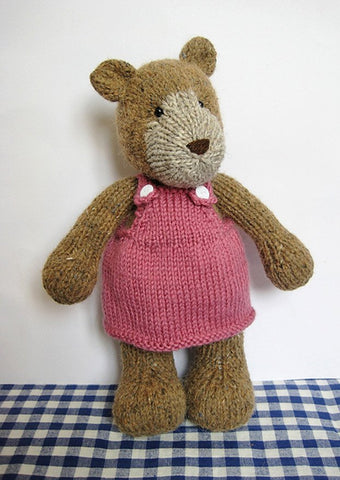Bear in Aran by Amanda Berry - Digital Version-Deramores
