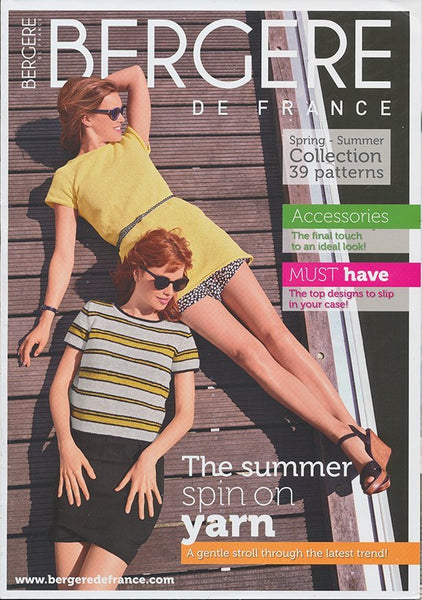 Knitting Magazine 184 - Adult Spring/Summer Collection by Bergere de France