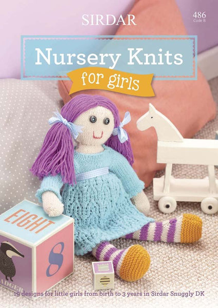 Sirdar Nursery Knits For Girls (486B)