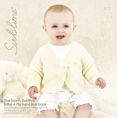 The Fourth Sublime Baby 4 Ply Hand Knit Book (677)