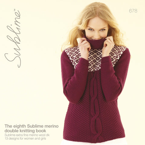 The Eighth Sublime Merino Double Knitting Book (678)
