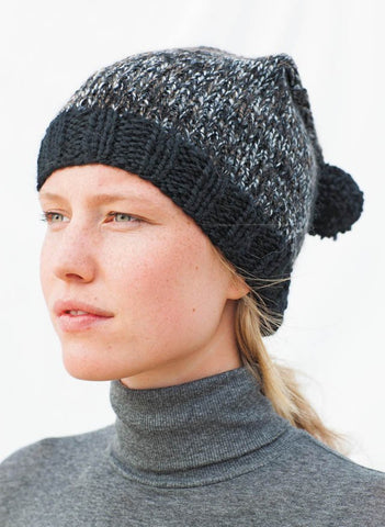 Bergere de France - Bobble Beanie Kit - Black-Deramores