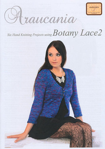 Botany Lace 2 Pattern Collection by Araucania