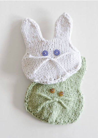 Boo-Boo Bunny in Blue Sky Organic Cotton Worsted (T16)