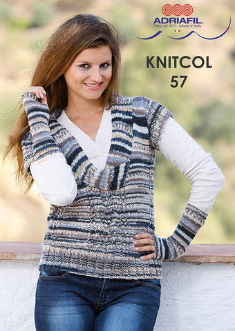 Botticelli Waistcoat in Adriafil Knitcol - Digital Version-Deramores