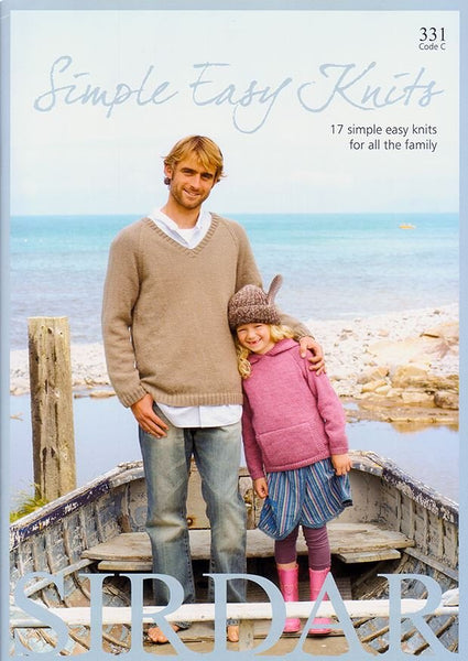 Simple Easy Knits by Sirdar (331C)
