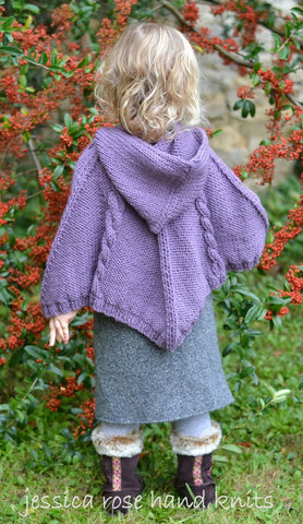 Cable Poncho by Linda Whaley - Digital Version-Deramores